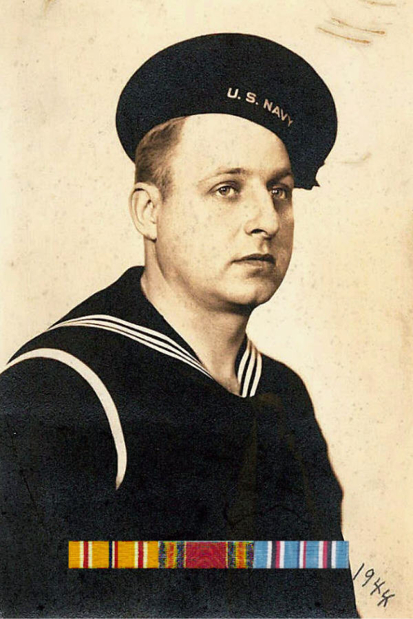 Seaman Tony Mautino - Naval Landing Force Equipment Depot