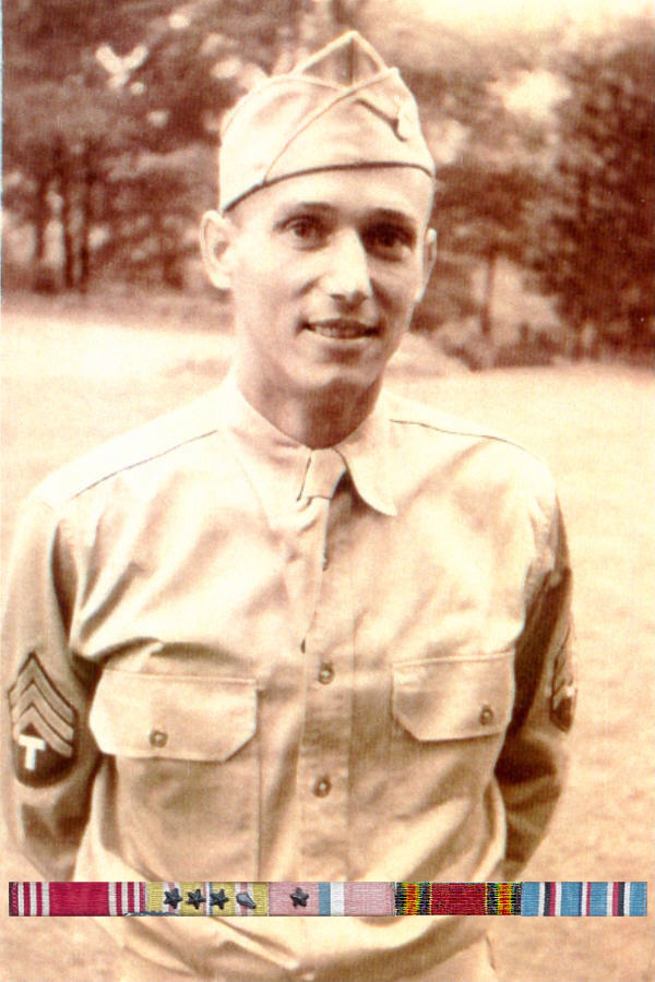 Sgt. Tuench Povirk - 77th Infantry Division